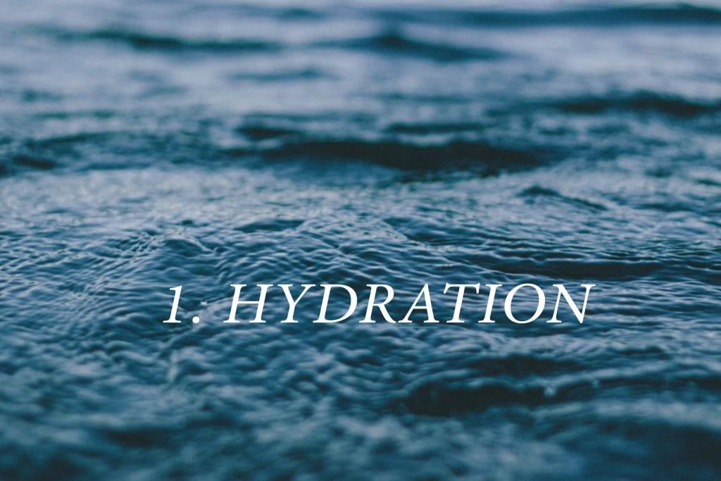 1.HYDRATION