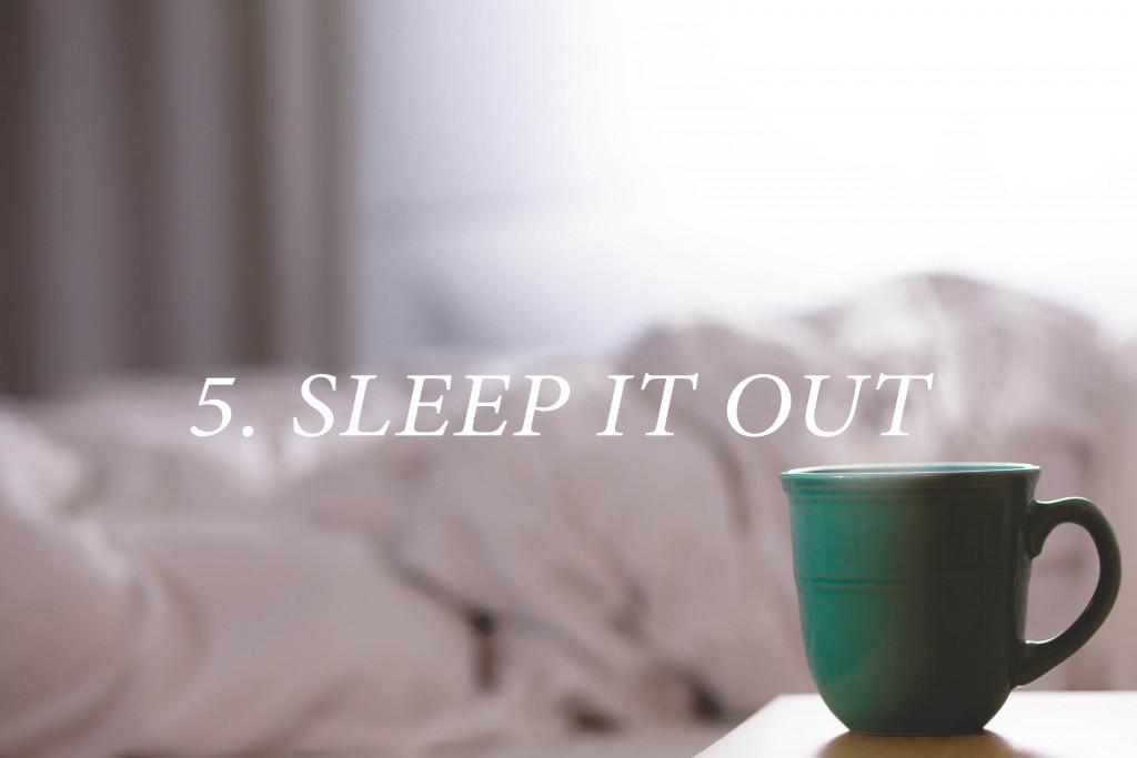 5.SLEEPITOUT